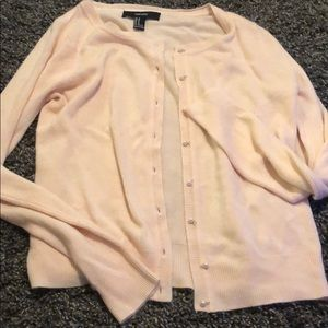 Pearl button cardigan